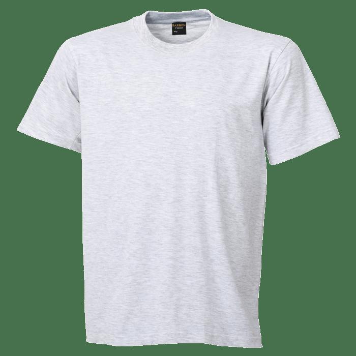 Free Melange white tshirt clean template.