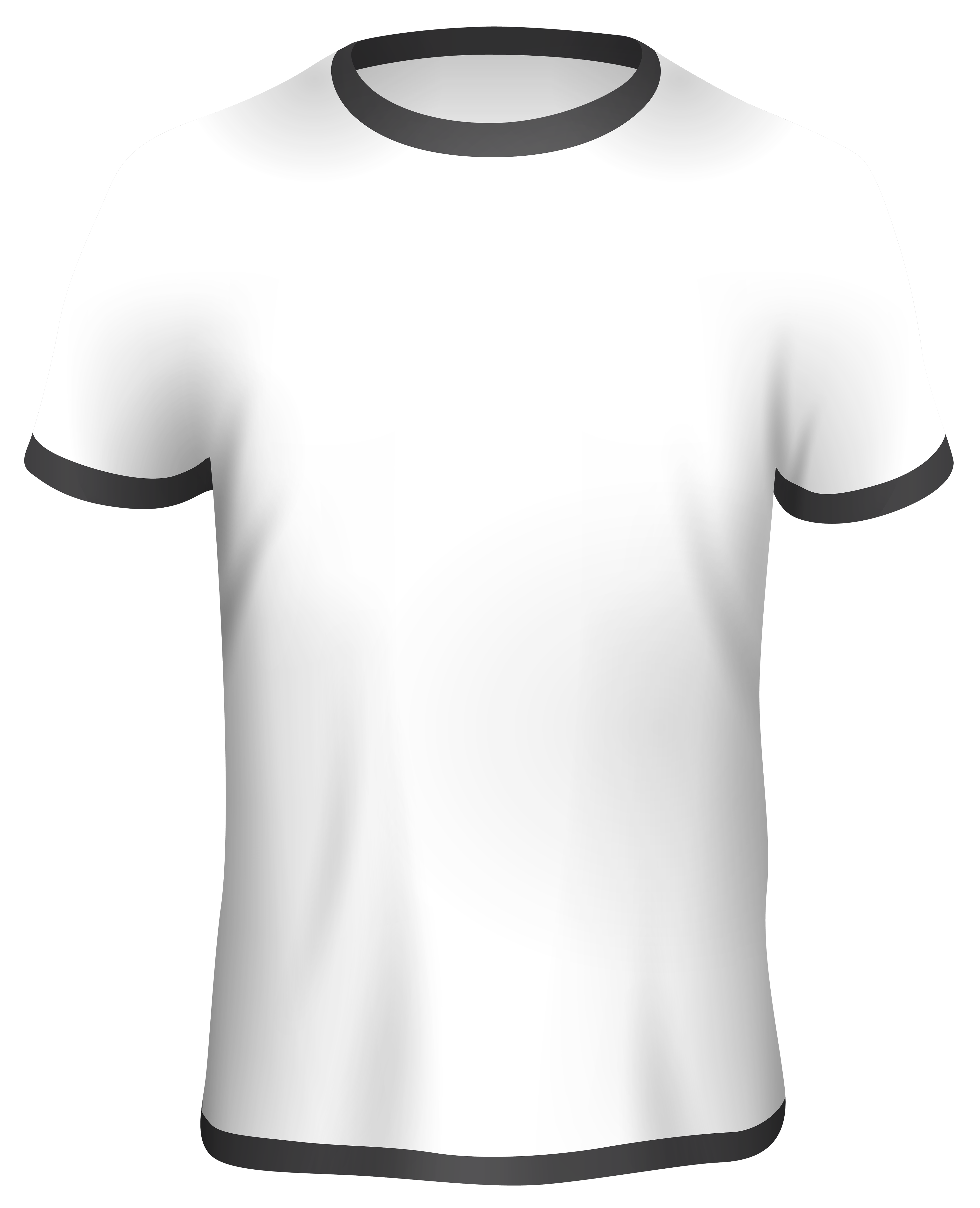 Male White Shirt PNG Clipart.