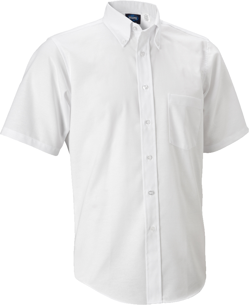 Plain White Half Shirts PNG Image.