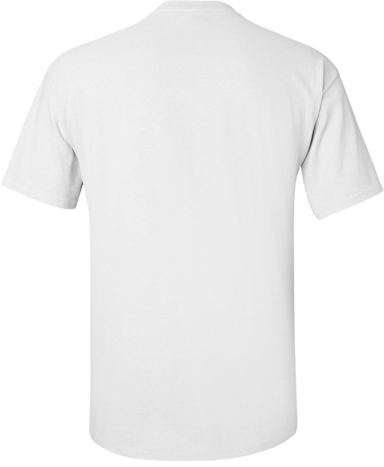 HD White T Shirt Template Png.
