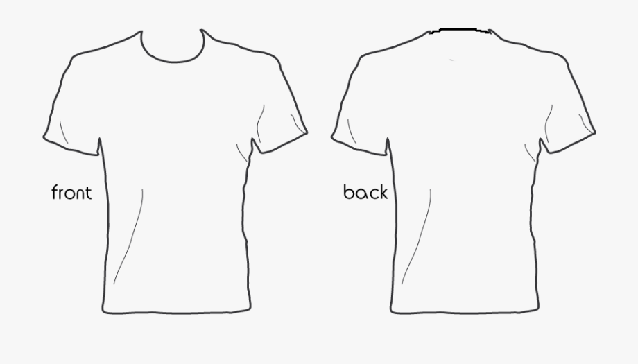 Shirt Outline Transparent Png Clipart Free Download.