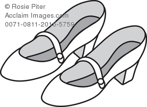 Shoes Clipart Black And White, Download Free Clip Art on.
