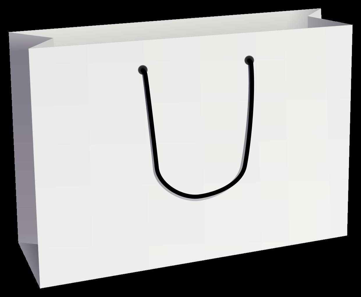 Brown Paper Shopping Bag transparent PNG.