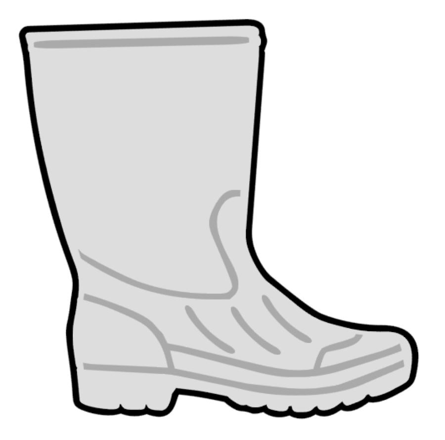 Shrimp Boot Acrylic Blank.