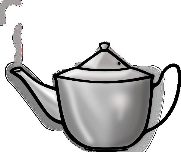 Clipart vintage teapot silhouette image 35770.