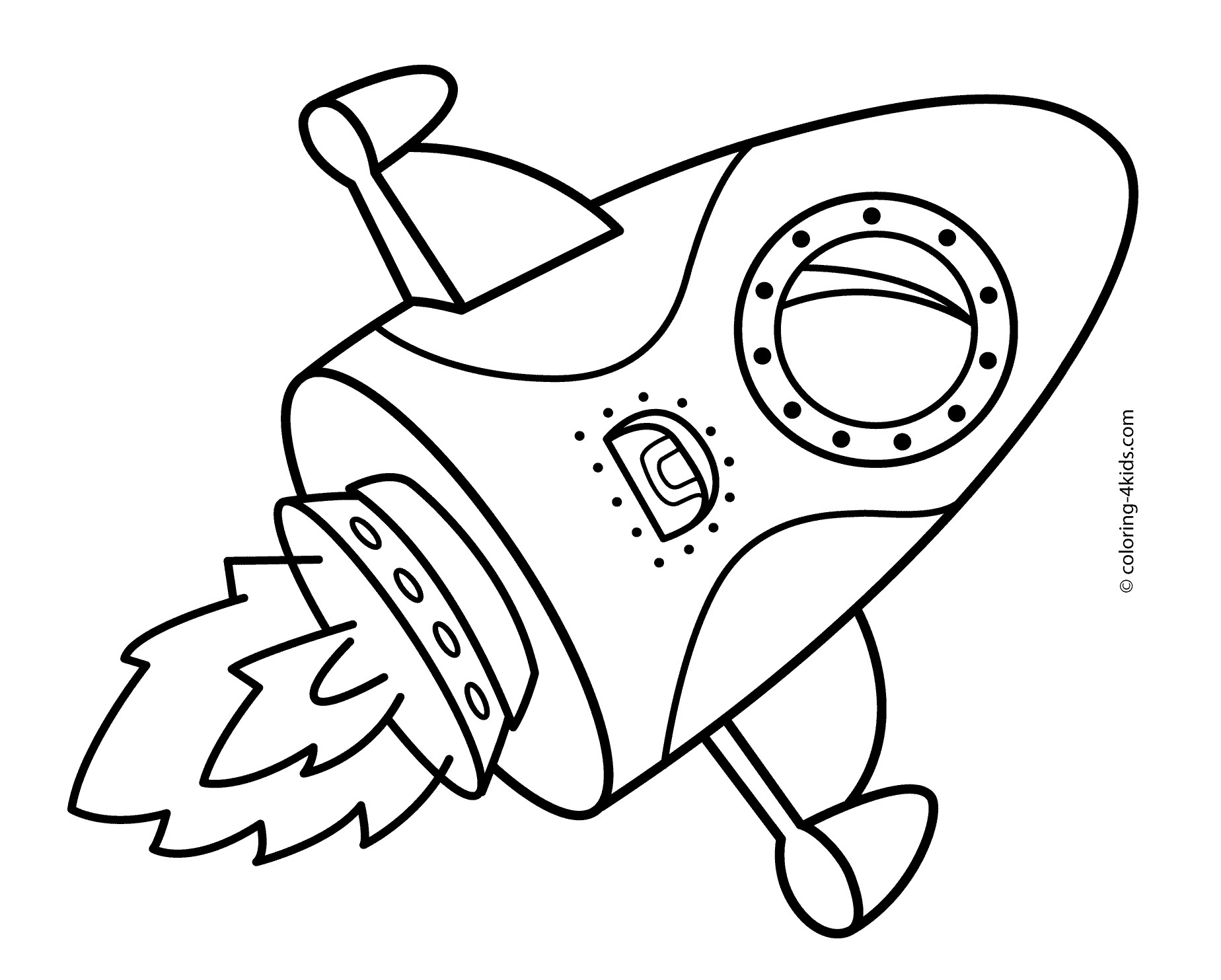 3449 Rocket free clipart.