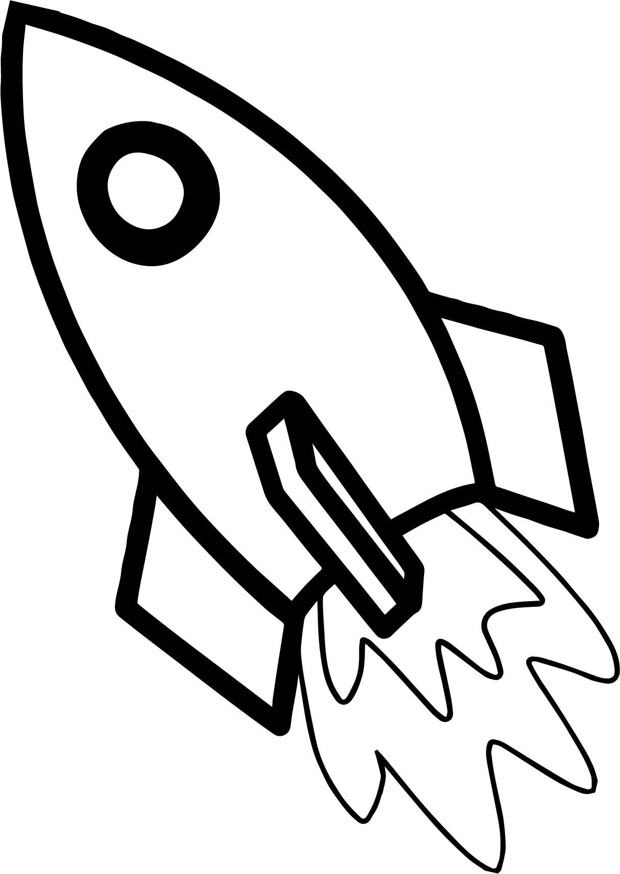 3449 Rocket free clipart.