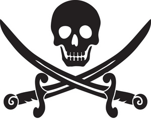 Pirate Skull And Crossbones Clip Art & Pirate Skull And Crossbones.