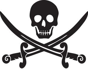Pirate Skull And Crossbones Clip Art & Pirate Skull And Crossbones.