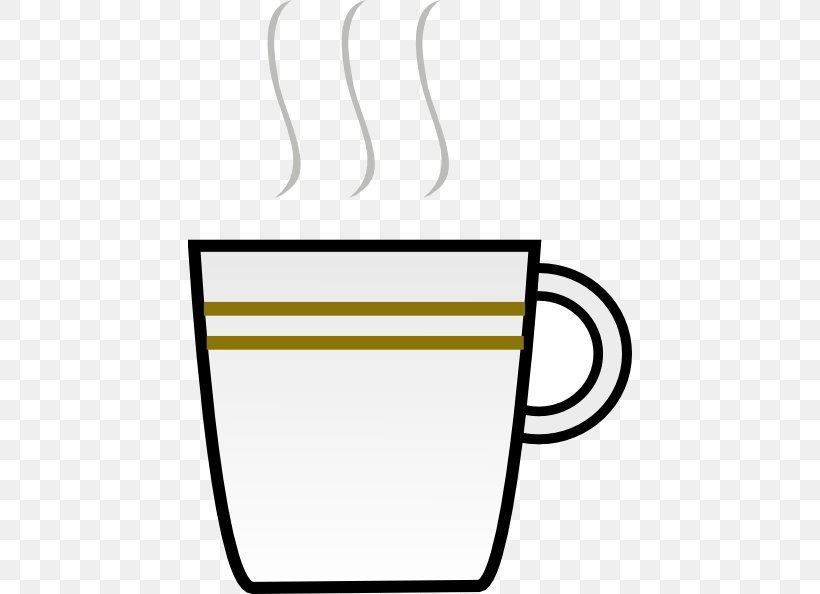 Coffee Cup Tea Clip Art, PNG, 444x594px, Coffee, Area, Black.