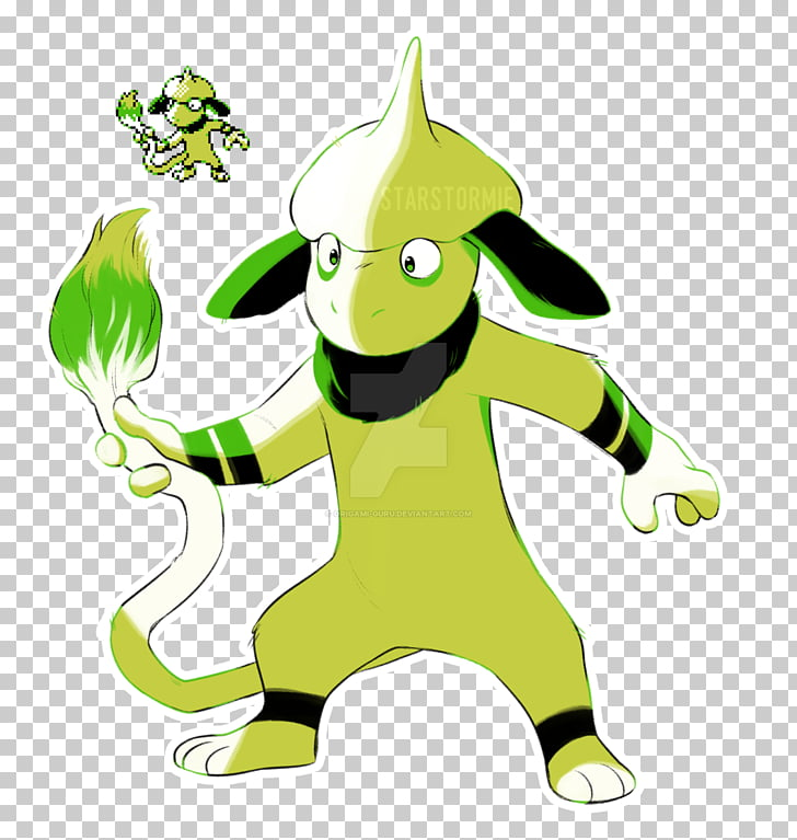 Pokémon Black 2 and White 2 Smeargle Art, smear PNG clipart.