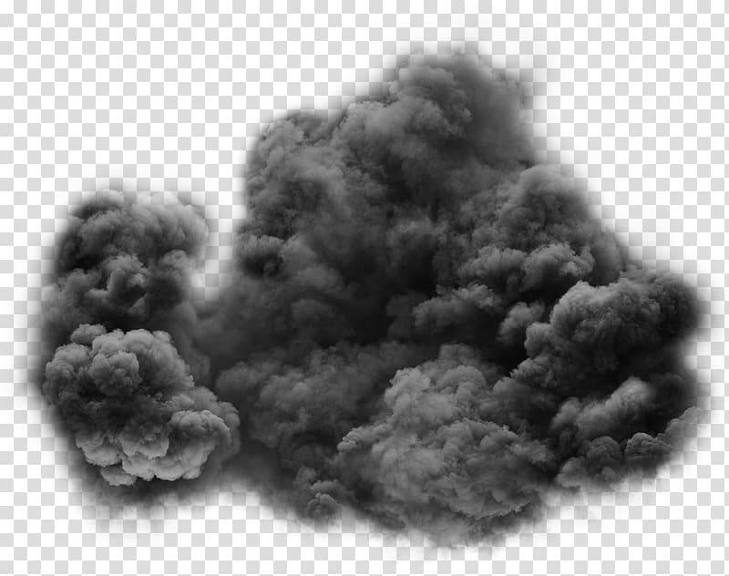 Gray smoke , Smoke Transparency and translucency Black and.