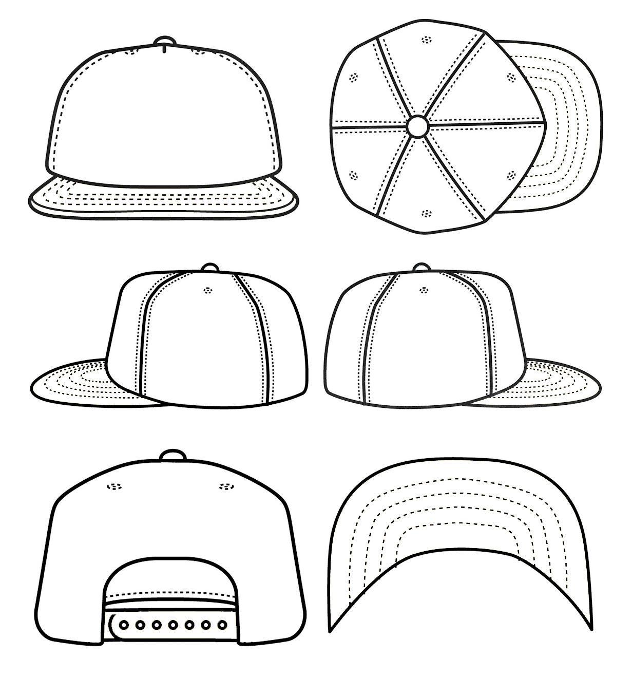 hat design templates.