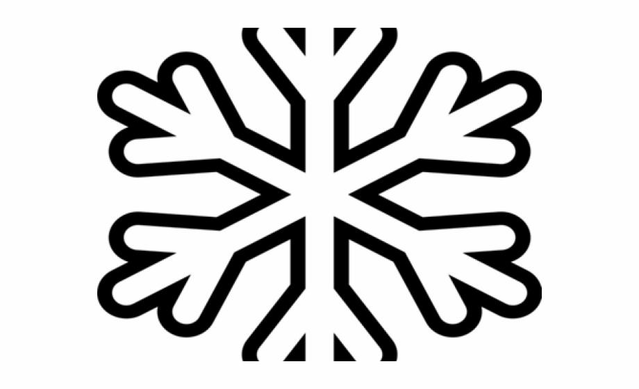 Snowflake Clipart Vector.