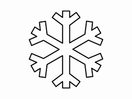 Image result for snowflake clipart black and white.