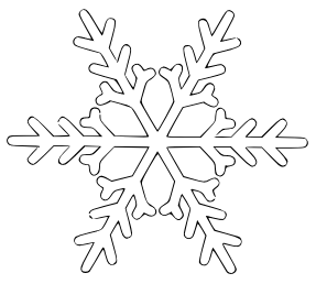 Snowflake White Cloud Clip art.