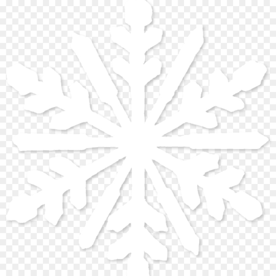 Free White Snowflake Transparent Background, Download Free.