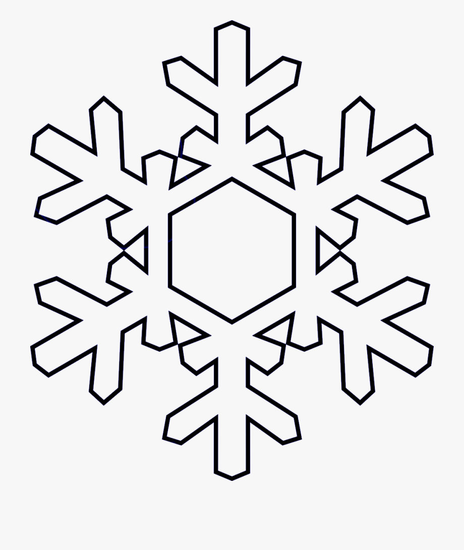 Snowflake Banner Freeuse Library Black And White No.
