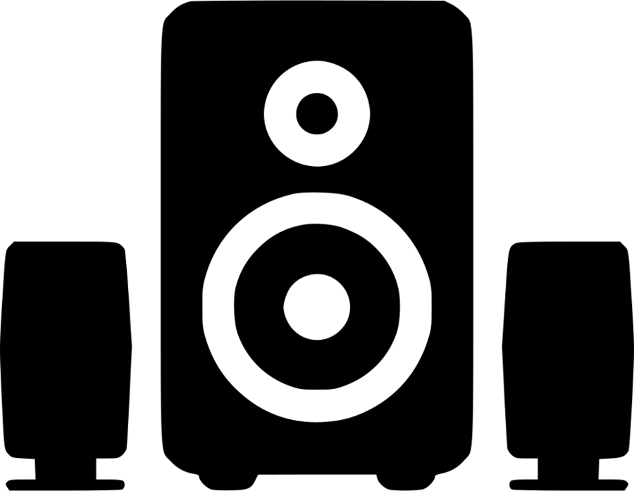 Speaker Cartoon clipart.