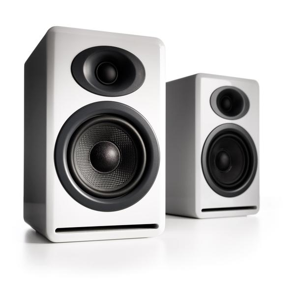 Audioengine P4 Passive Bookshelf Speakers.