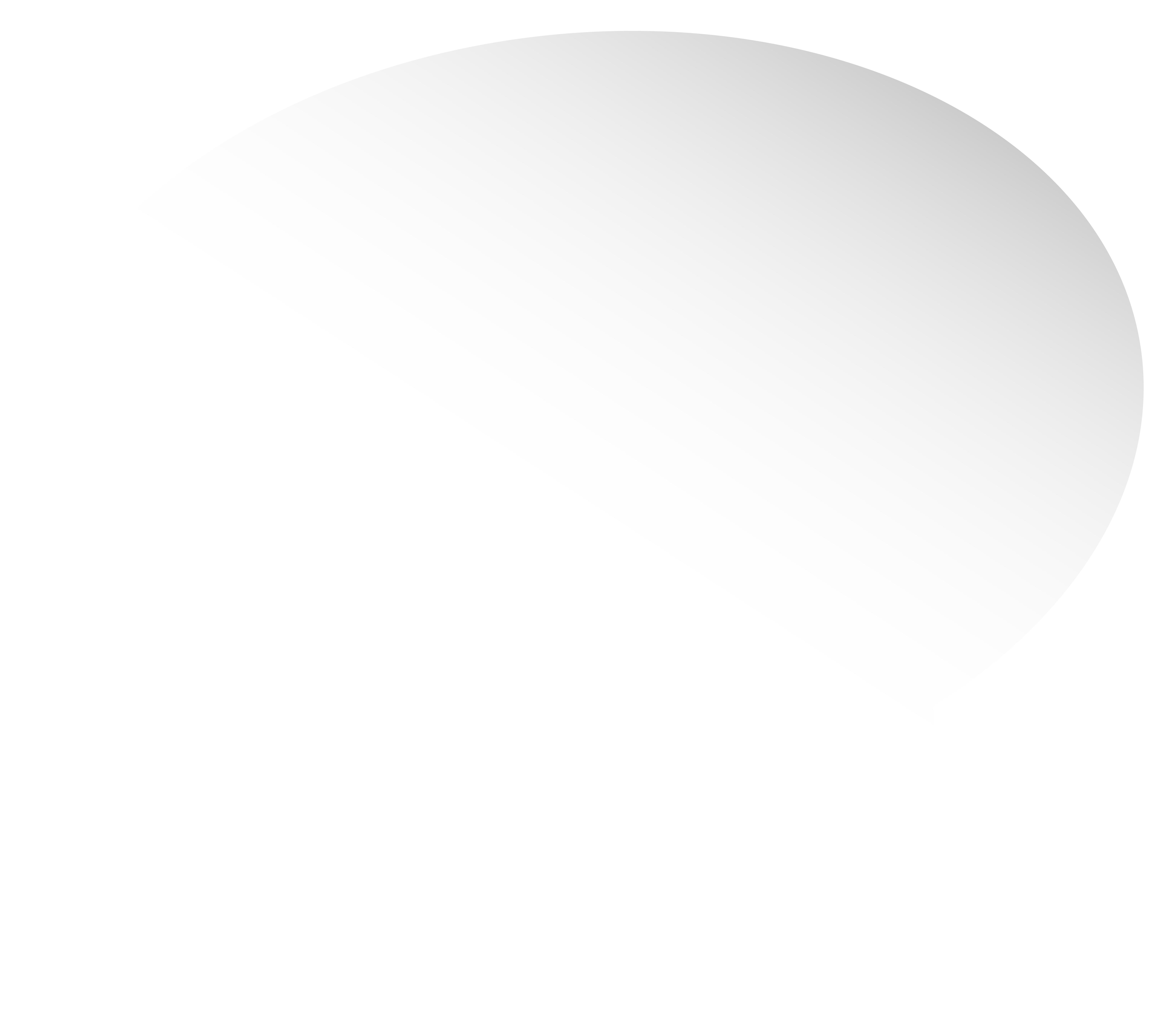 Bubble Speech White PNG Clip Art Image.