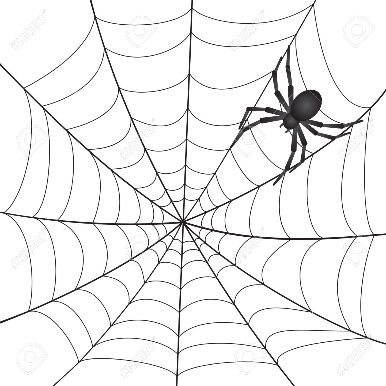 Spider Web Line Drawing at GetDrawings.com.
