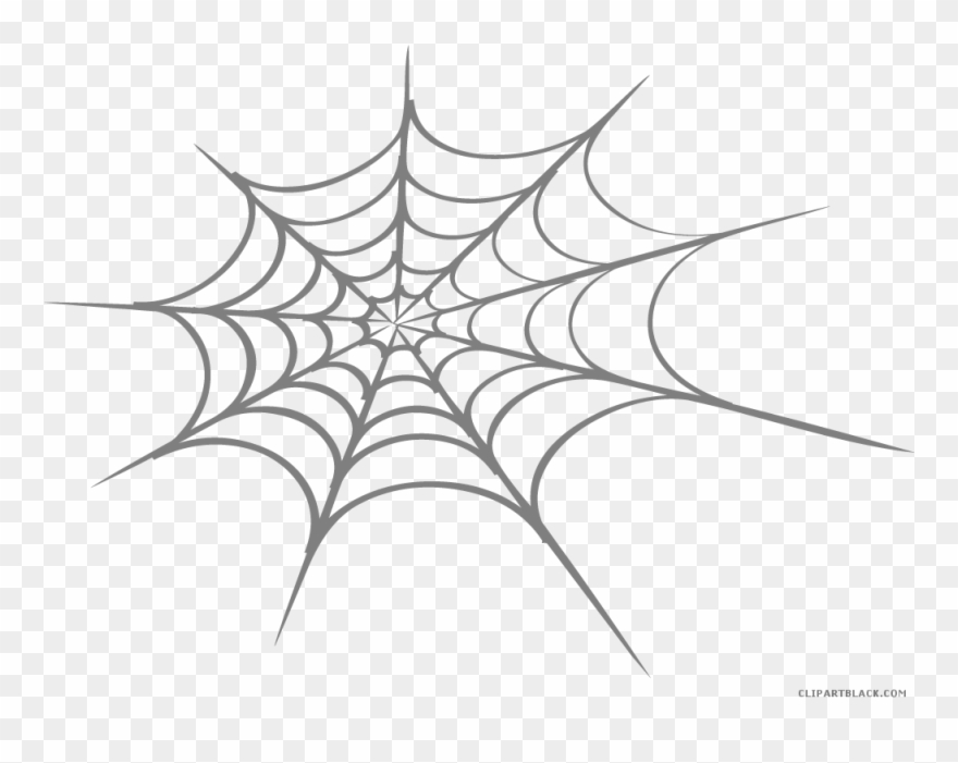 Spider Clipart Black And White Free.