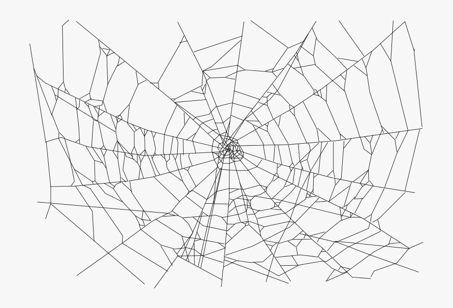 Transparent Background Spider Web Png #79716.