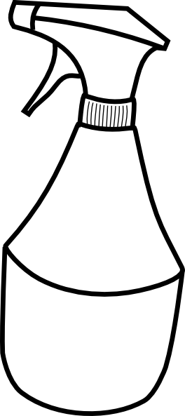 Spray Bottle Clipart.