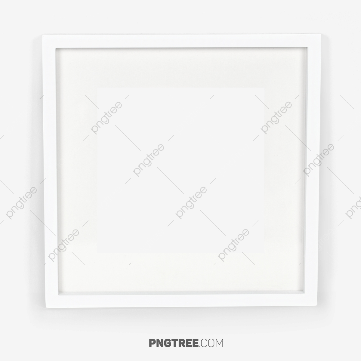 white Square Frame Easy To Use, White Square Frame, White, Square.