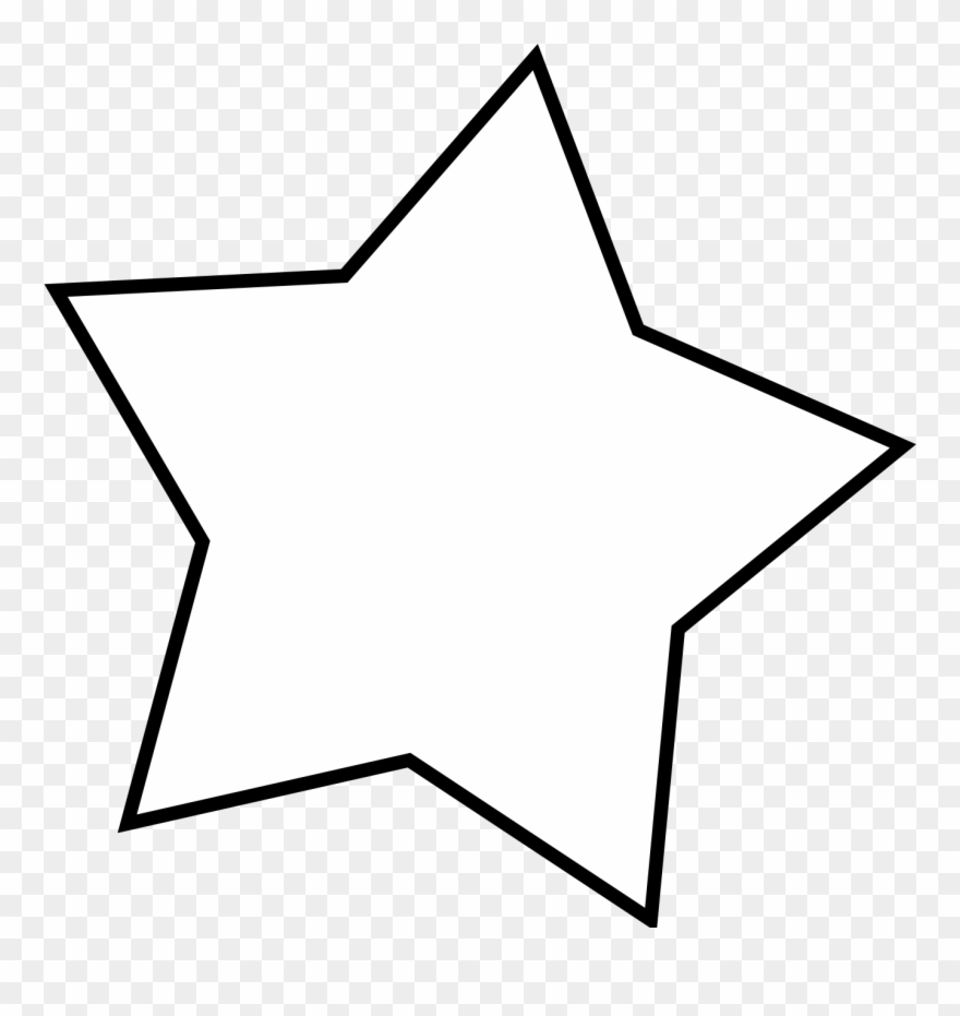 Excellent Ideas Star Clipart Black And White Clip Art.