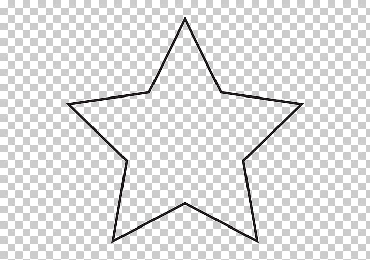 Shape Star Coloring book , WHITE STARS PNG clipart.