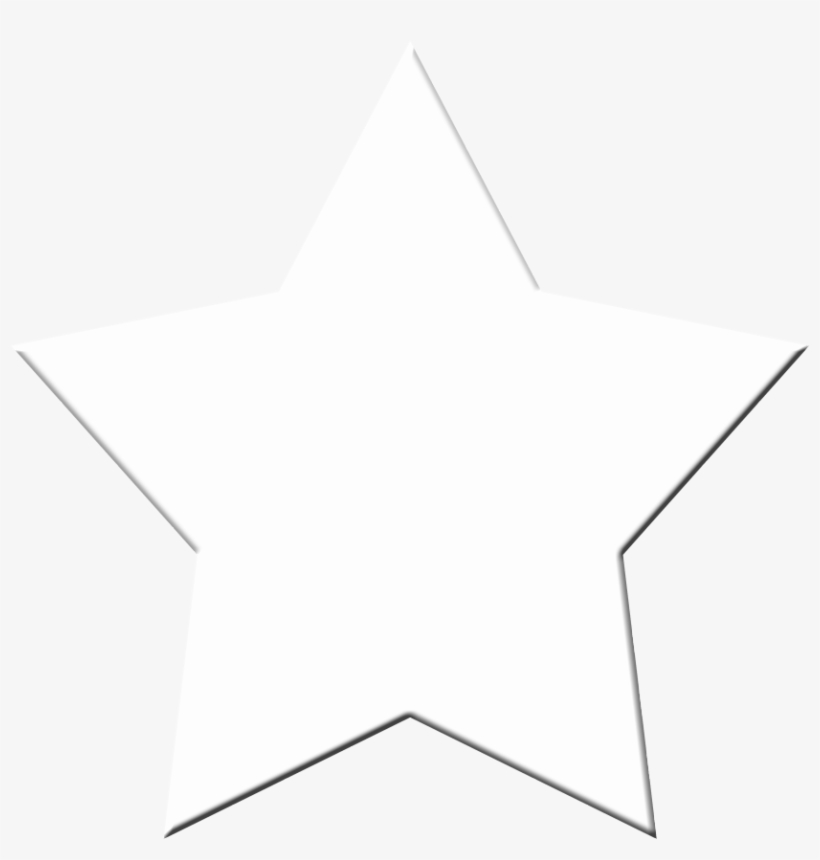 White Star Vector Png Transparent PNG.
