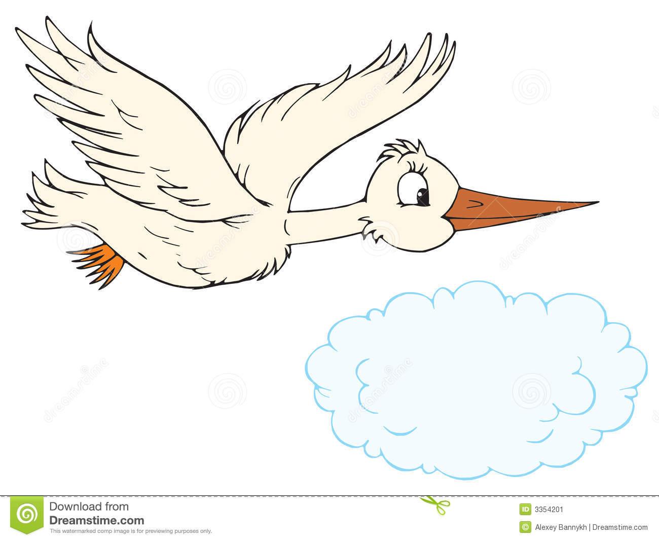White Stork (vector Clip.