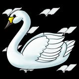 A Beka Book :: Clip Art :: White Swan.