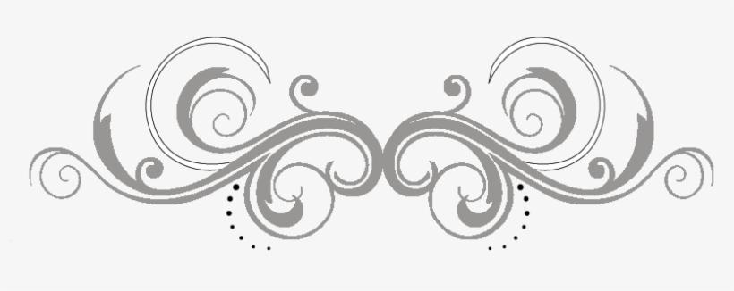 Png White Swirls Jpg Black And White.