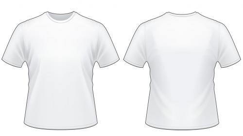 Blank tshirt template worksheet in 2019.