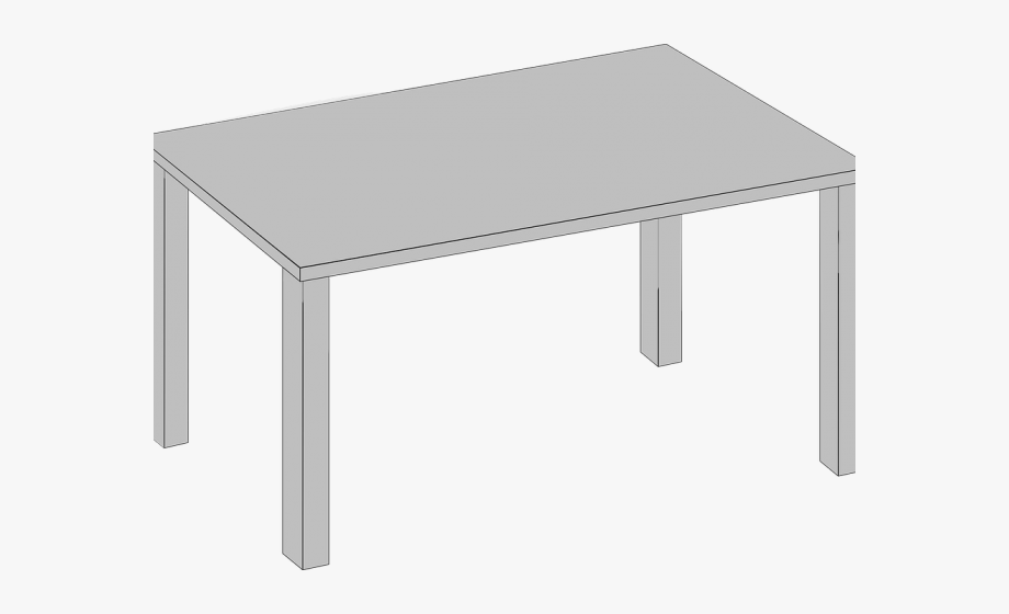 Dining Table Clipart Transparent.
