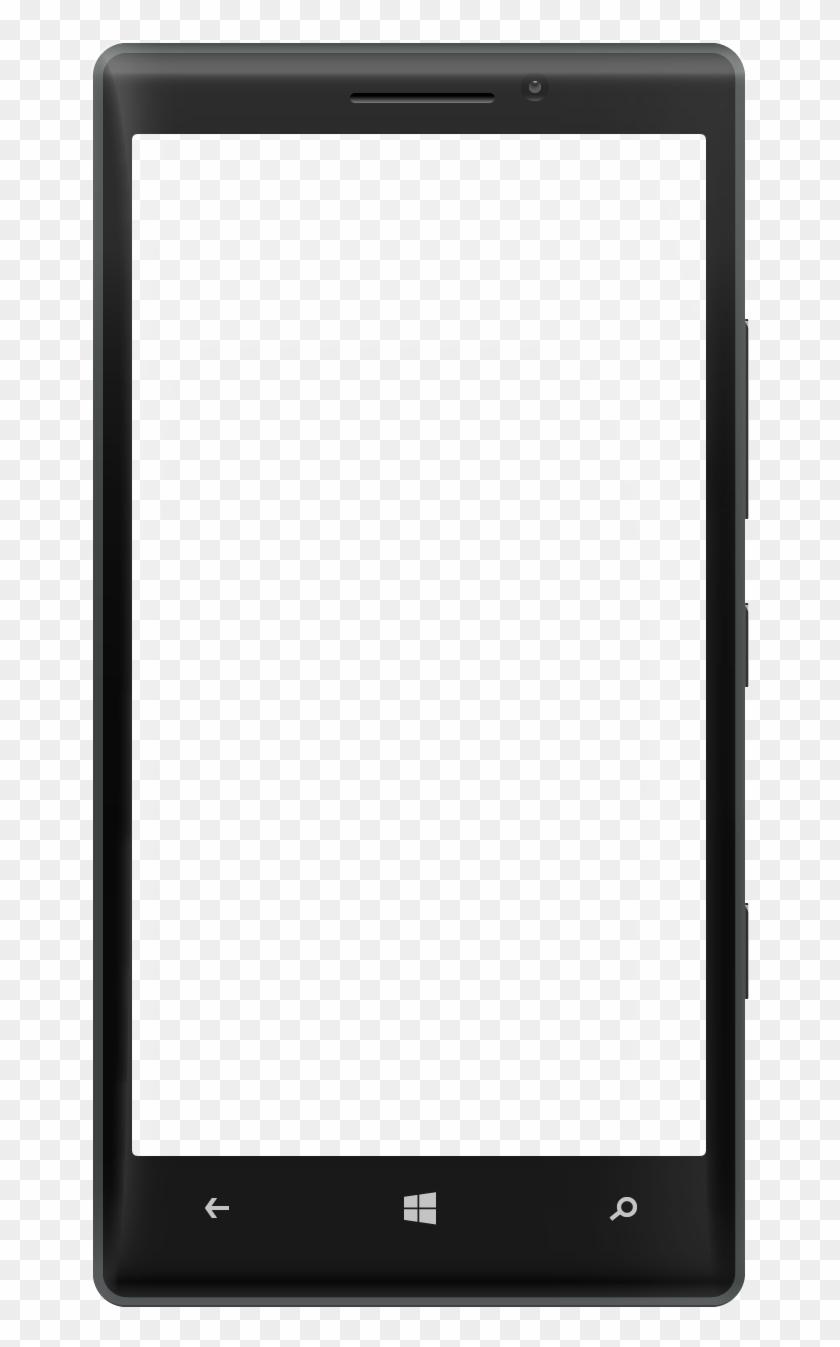 Frame Transparent Phone.