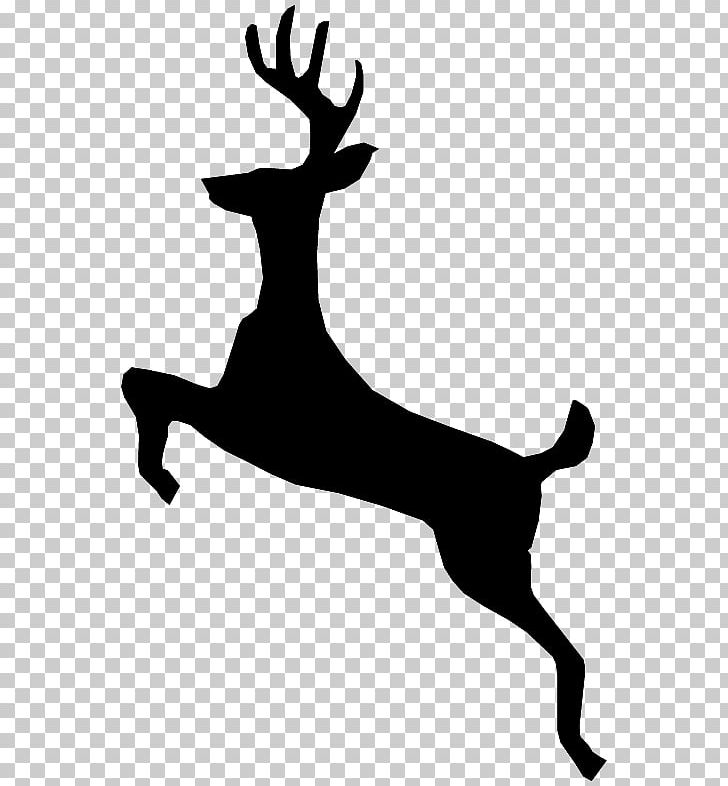 Reindeer Personalization Antler Silhouette PNG, Clipart.