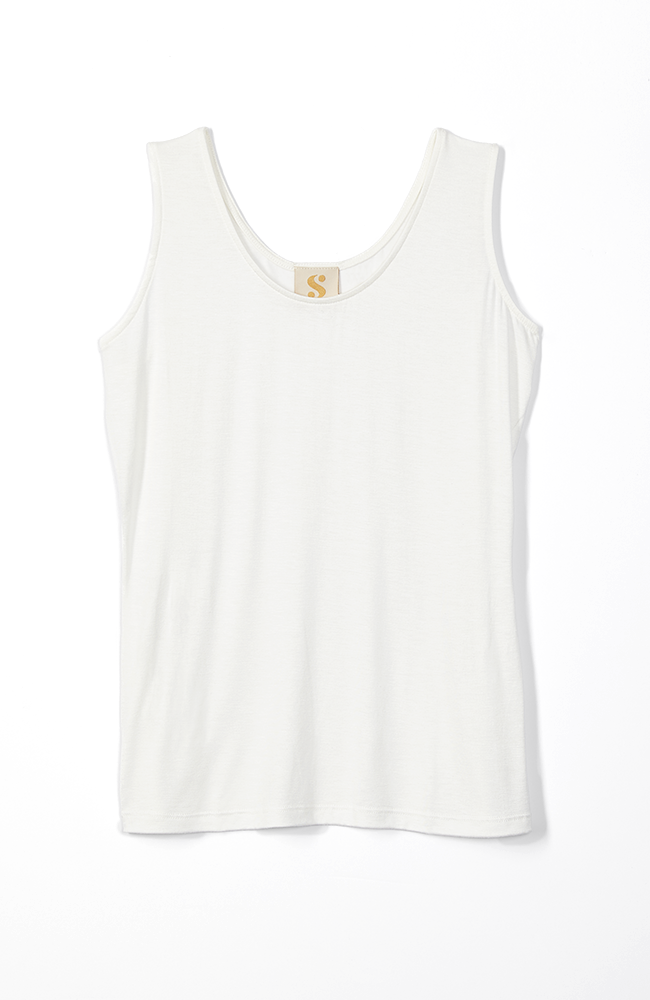 Everywhere Tank Top in White.