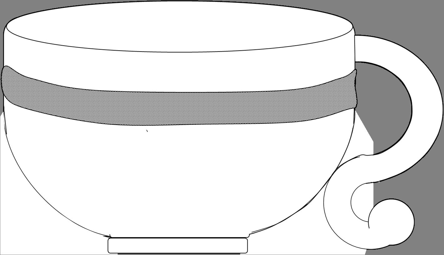 White tea cup clipart #17