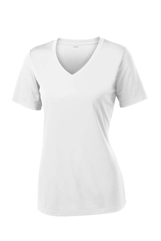 Short Sleeve Moisture Wicking Athletic Shirt.