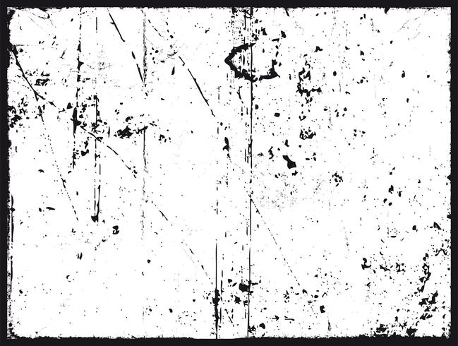 Grunge Texture In Black And White.