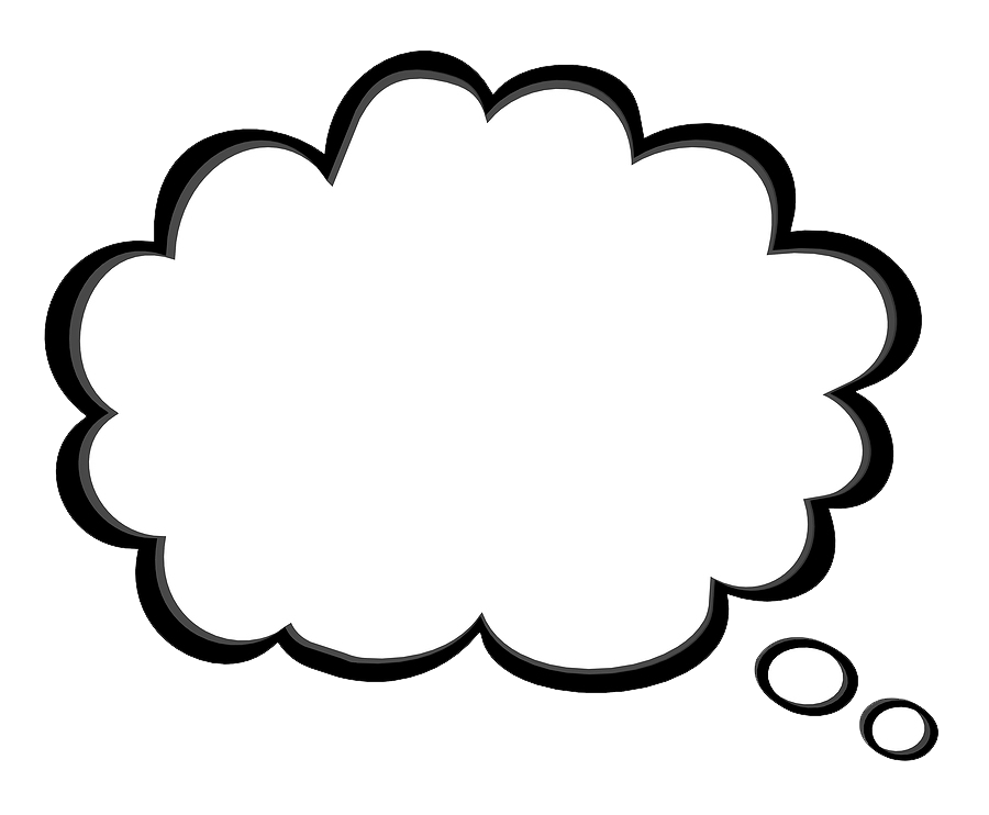 Thought Bubble PNG Transparent Images.