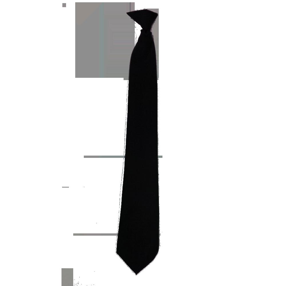 Black Tie PNG Image.