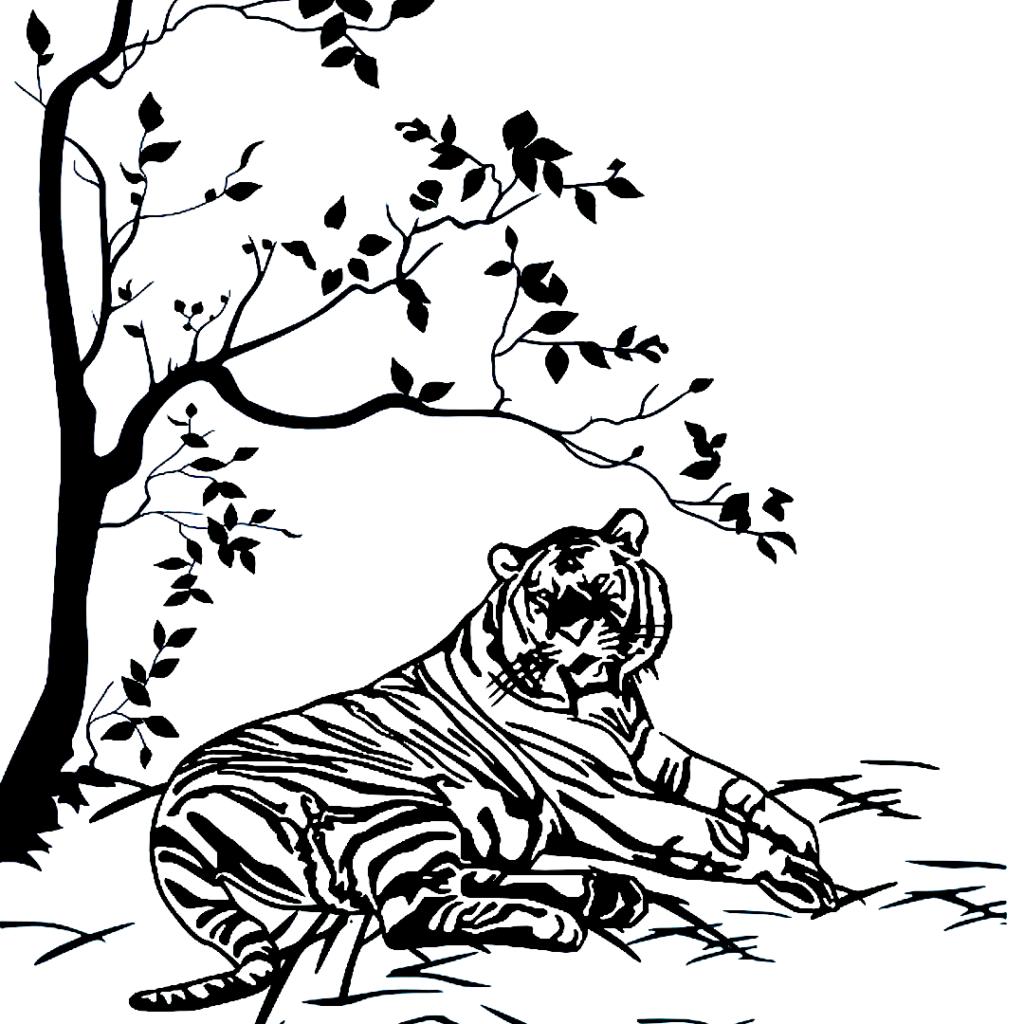 Byakko: The Supernatural White Tiger Yokai.