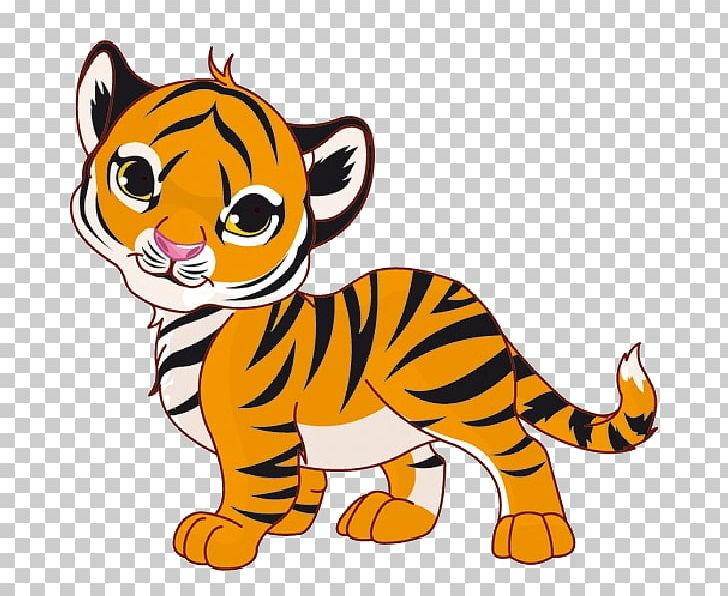 white tiger tail clipart #2