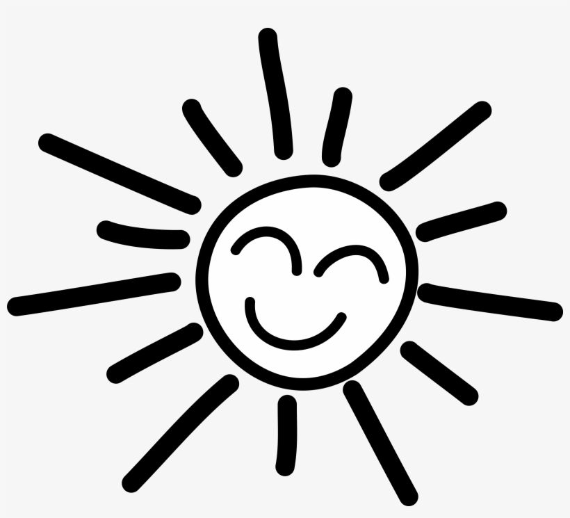 Happy Stick Figure Sun Picture Transparent Download.