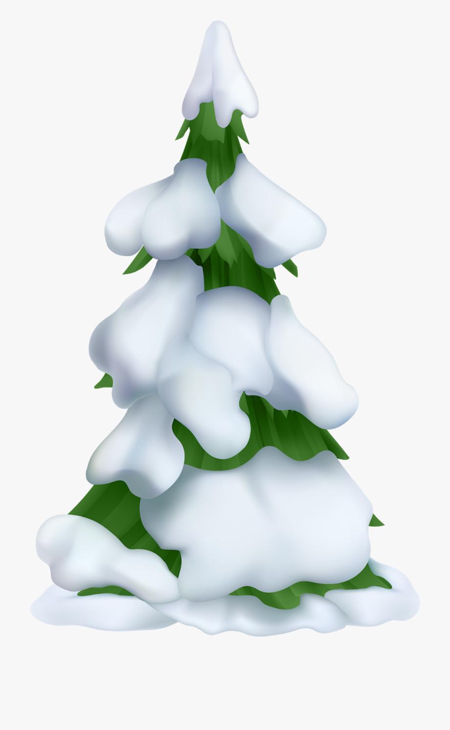 White Christmas Tree Png.